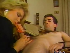This blonde was horny