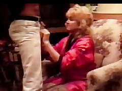 Blonde unzips his pants Man