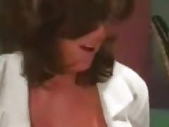 Breasty Nurse makes her job