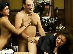 Classic Threesome With Some Dirty Girls