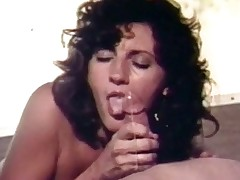 A girl walks into a trailer wher a naked guy is waiting for her on the couch. She takes her clothes off and lays down, spreading her legs so the guy can take up with the tongue her pussy. A little later she sits down on his lap and lowers her pussy over his inflexible dick.