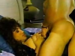 Vintage sex with a titty Brazilian aged