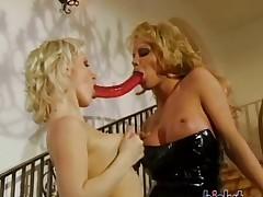 These sluts love lesbian sex