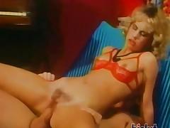 This blonde is a slut