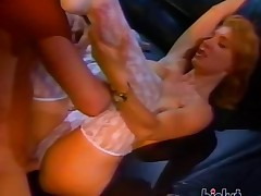 This slut spreads her legs