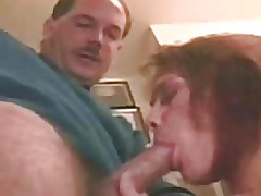 His cock sucking her hot throat