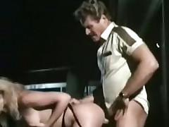Retro porn movie with outdoor fucking