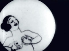 In this vintage cartoon a fellow finds himself a magic dick that attaches itself to his body. He desperately tries to fuck a hotty but there's all sorts of thing getting in the way. One has her pussy full of junk and the next one is screwed by an old guy.