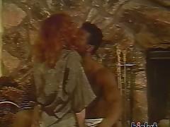 This slut loves black cock scene 21
