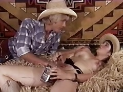 Vintage Porn 1970s - Hairy Teen Cowgirl Has Sex