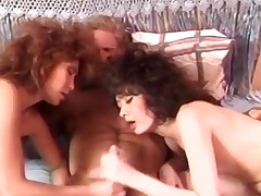 Spicy 3some in A full play sex game xxx game