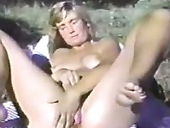 Masturbating Outside In The Forest Vintage