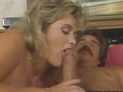 Penny Morgan  CUte Blonde Babe Riding A Big Dick