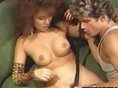 Jade East Asian Slut Feasting On Caucasian Penis