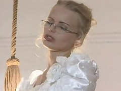 Hot bride gets drilled in wedding dress