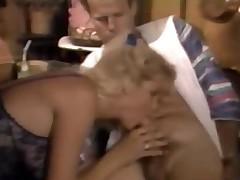 Amazing Classic Blonde Hot Sucks And Fucks