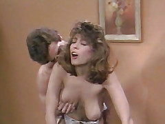 Breasty Christy Canyon taking cock deeply
