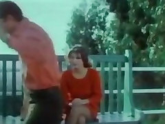 Vintage porn clip with two ladies