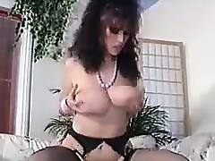 Vintage Breasty MILF Getting Drilled
