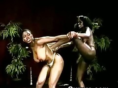 Big Titty Afro Hoes Zulu Fighting