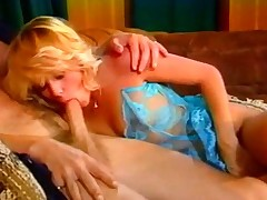 Beautiful Retro Blonde Hot Riding