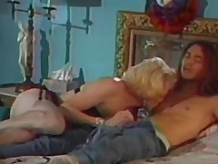 Blond sucks penis in the lengthy-haired boy