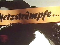 vintage 70s german - Netzstruempfe - cc79