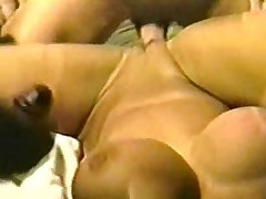 Vintage Big Tits Holly Body Gets Group-fucked