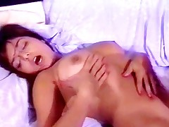 Retro hairy beauty licked and screwed