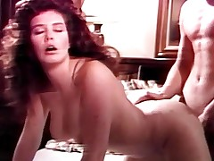 Orgasmic fuck inside lovers bedroom