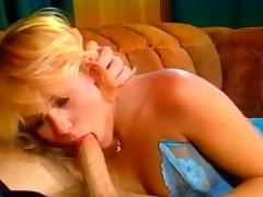 looking blonde fucks like slut