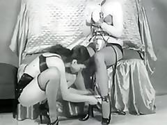 Pair Lez pleasuring Fetish