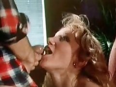Classic XXX: Merle Michaels in hot 3-way!