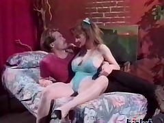 Bisex vintage sex clip on HST