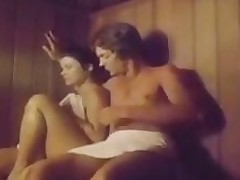 Two Chicks In A Threeway At A Sauna Classic